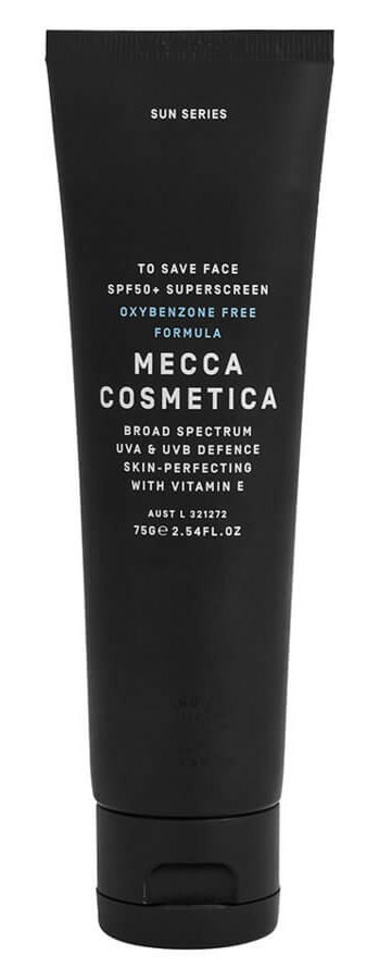 Mecca Cosmetica To Save Face Spf50+ Superscreen Oxybenzone Free Formula