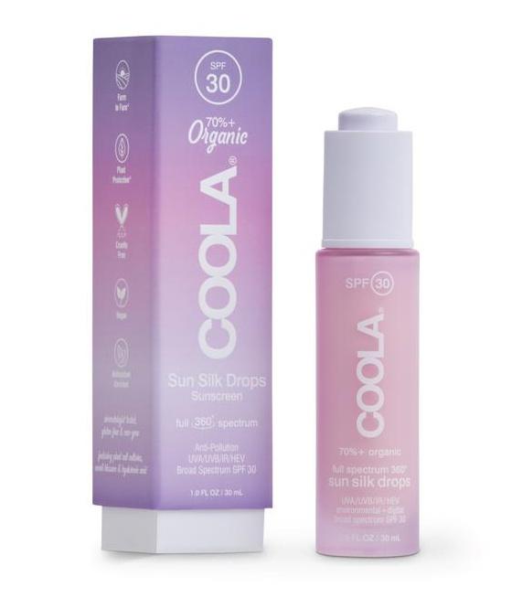 Coola Full Spectrum 360° Sun Silk Drops Organic Face Sunscreen Spf 30