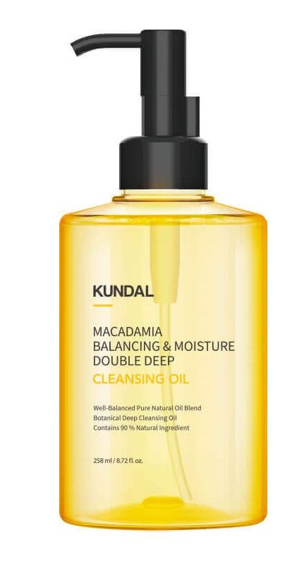 Kundal Macadamia Balancing & Moisture Double Deep Cleansing Oil