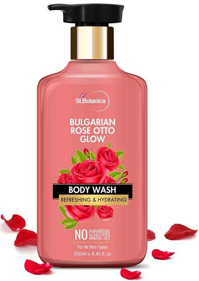 St. Botanica Bulgarian Otto Rose Glow Body Wash