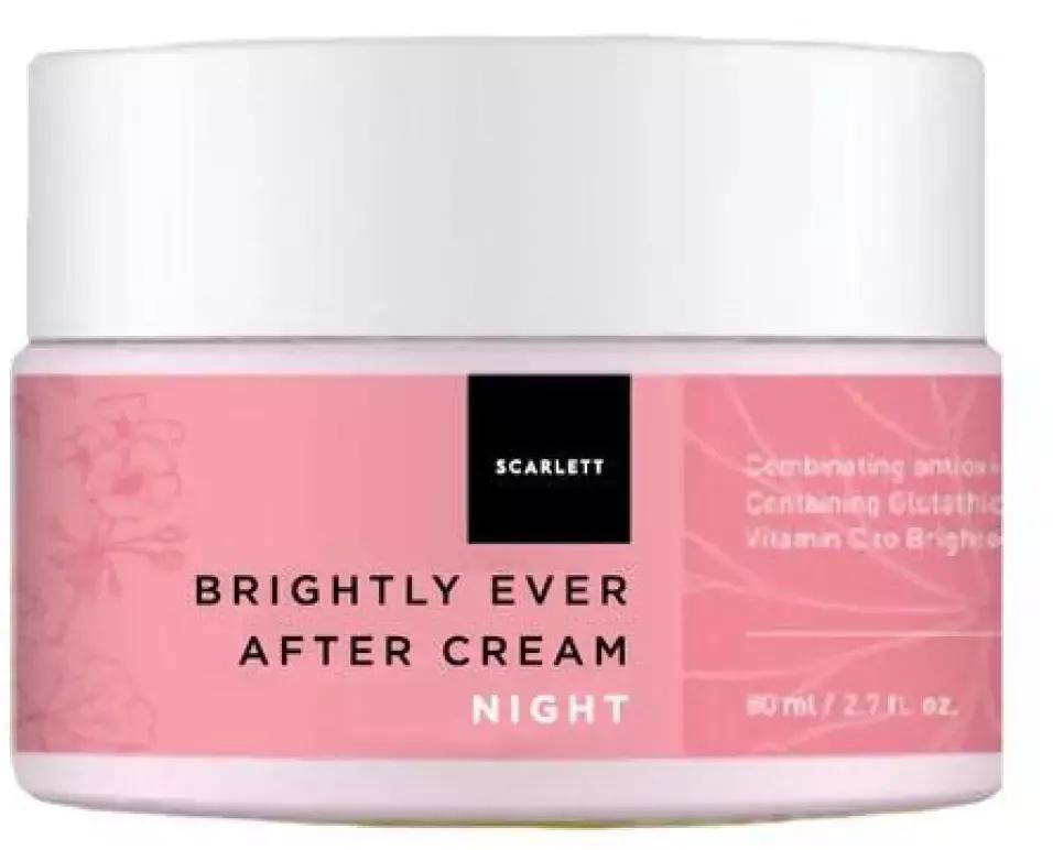 Scarlett Whitening Brightly Ever After Night Cream