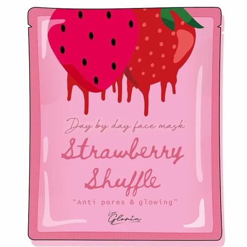LEA  GLORIA Strawberry Shuffle Face Mask