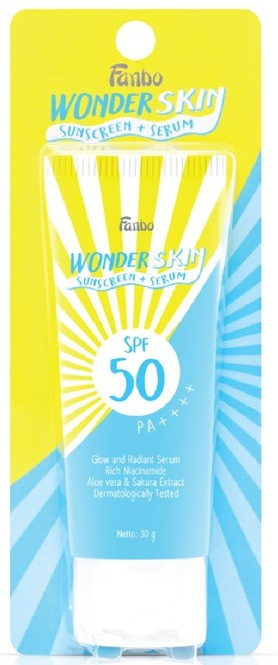 Fanbo Wonder Skin Sunscreen + Serum