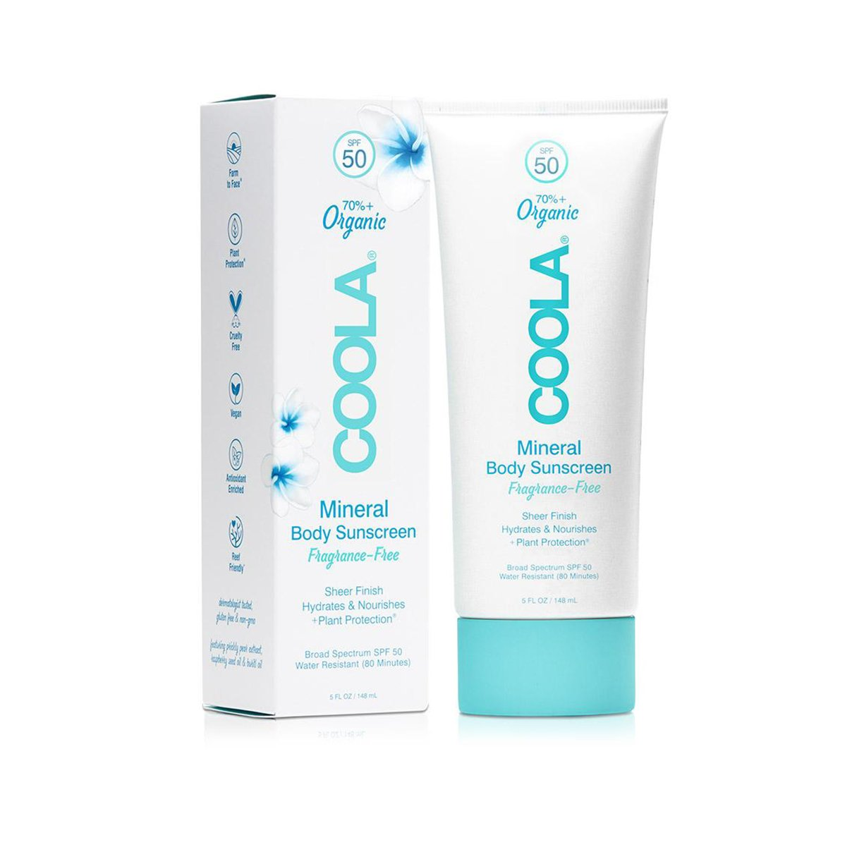 Coola Mineral Body Sunscreen Lotion Spf 50 - Fragrance-Free