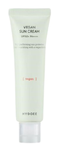 hyggee Vegan Sun Cream SPF50+ PA++++
