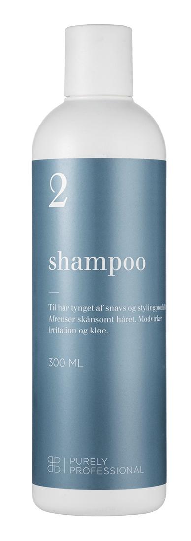 Purely professional Shampoo 2  - Fedtet Hår