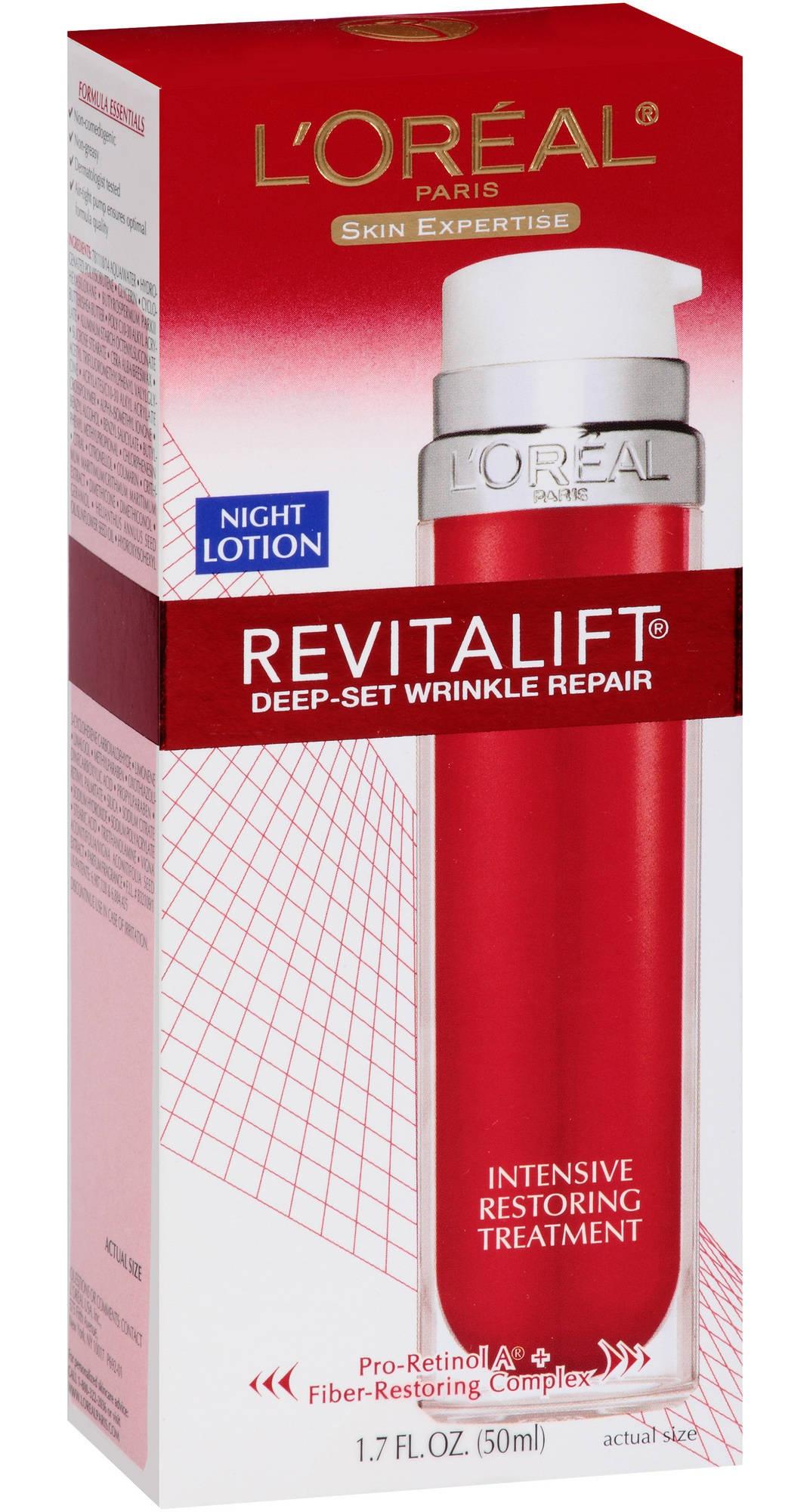 L'Oreal Paris Revitalift- Deep Set Wrinkle Repair Night Cream