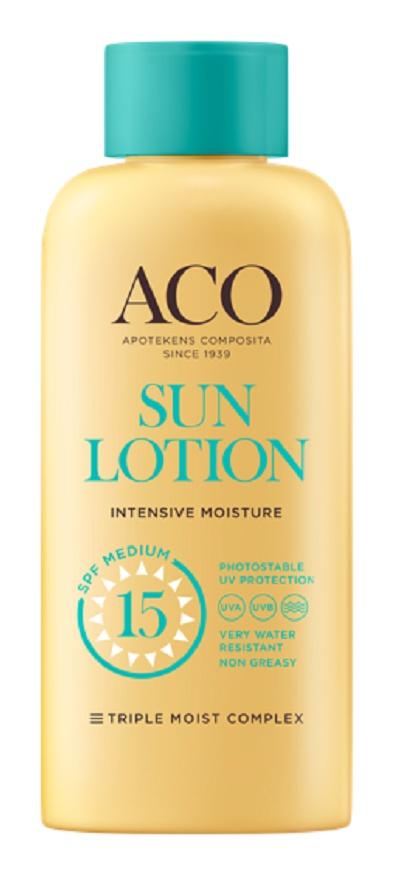 ACO Sun Lotion SPF 15 Intensive Moisture