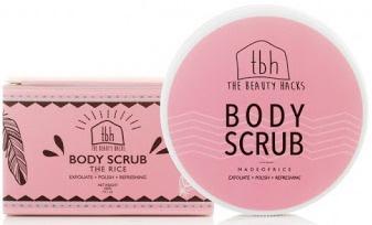 The Beauty Hacks Body Scrub Rice