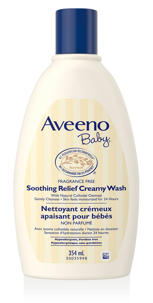 Aveeno Baby Soothing Relief Creamy Wash [CAN]