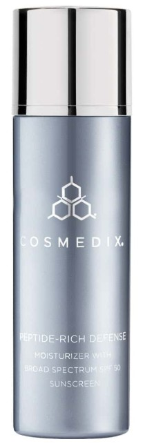 Cosmedix Peptide-Rich Defense Moisturizer With Broad Spectrum Spf 50 Sunscreen