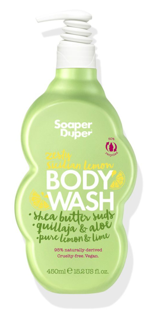 Soaper duper Zesty Sicilian Lemon Body Wash