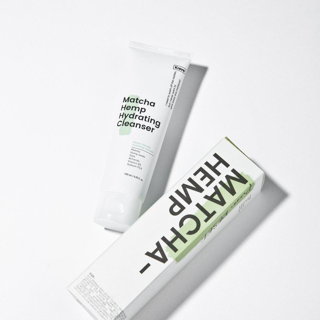 Krave Matcha Hemp Hydrating Cleanser