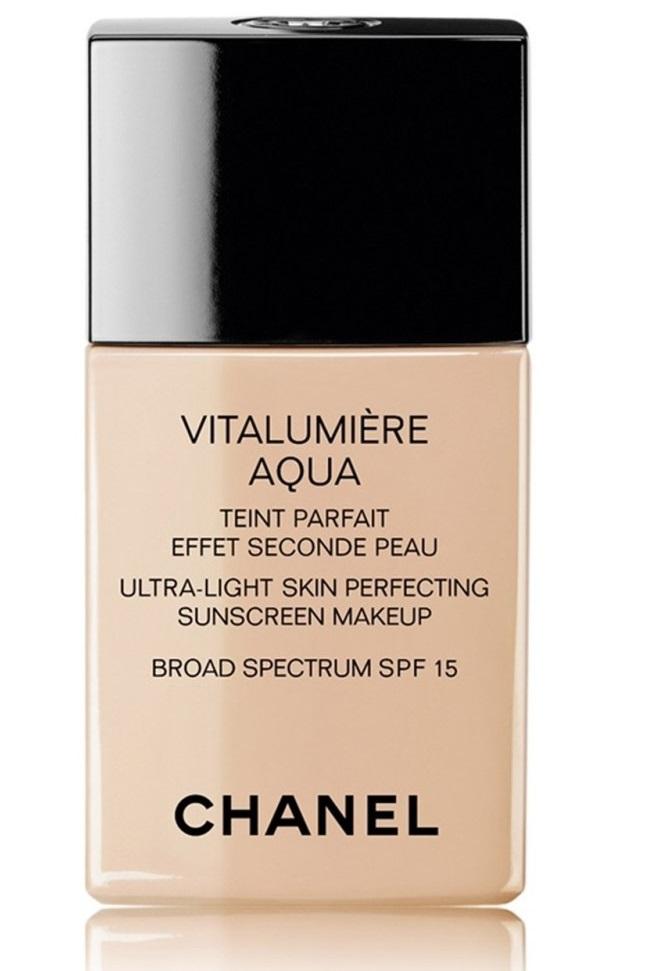 Chanel Vitalumière Aqua Ultra-Light Skin Perfecting Makeup Spf 15