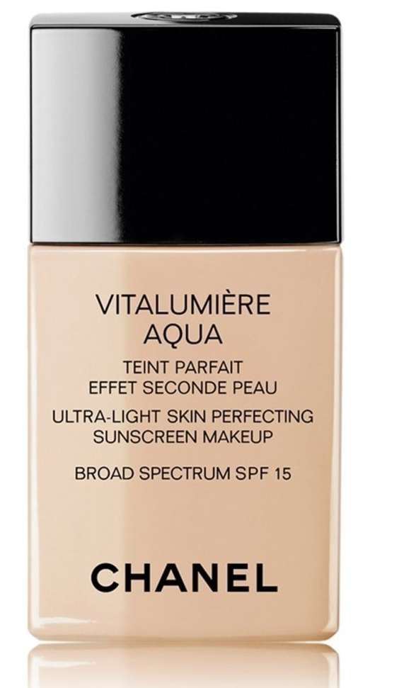 Chanel Vitalumière Aqua Ultra-Light Skin Perfecting Makeup Spf 15