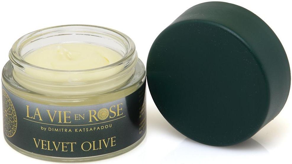 La vie en rose Velvet Olive