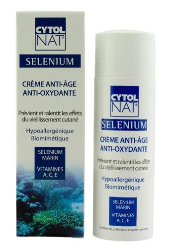 CYTOLNAT  Selenium Creme Anti-Age Anti-Oxidante