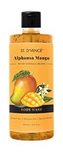 St. D'Vence Alphonso Mango Body Wash With Vanilla Beans