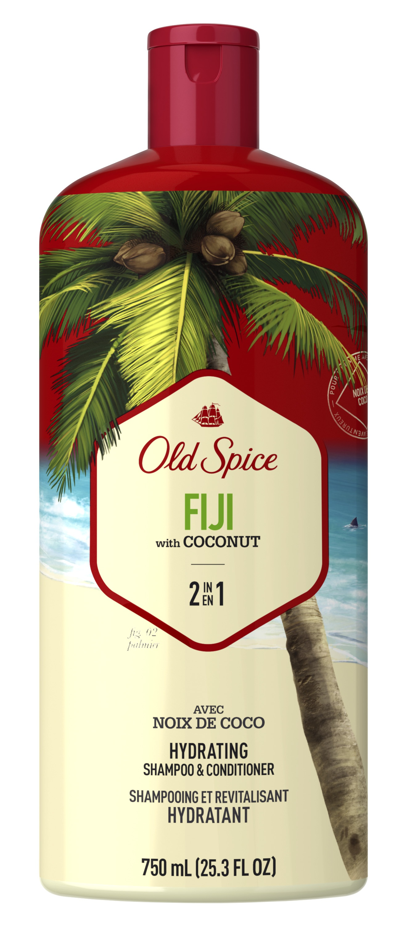 Old Spice Fiji 2In1 Shampoo And Conditioner