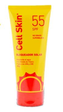 Cell Skin Bloquearor Spf 55