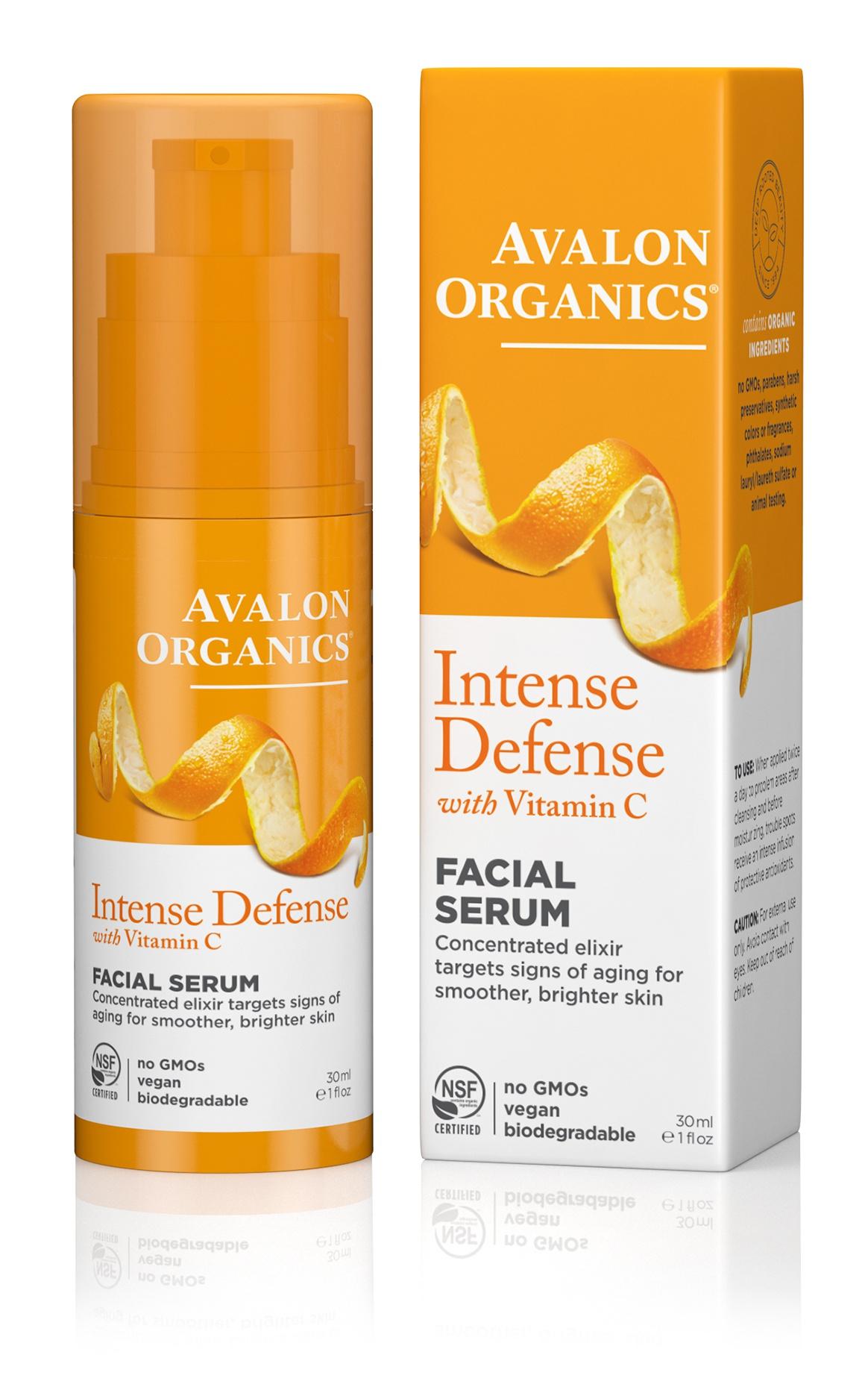 Avalon Organics Intense Defense Facial Serum With Vitamin C