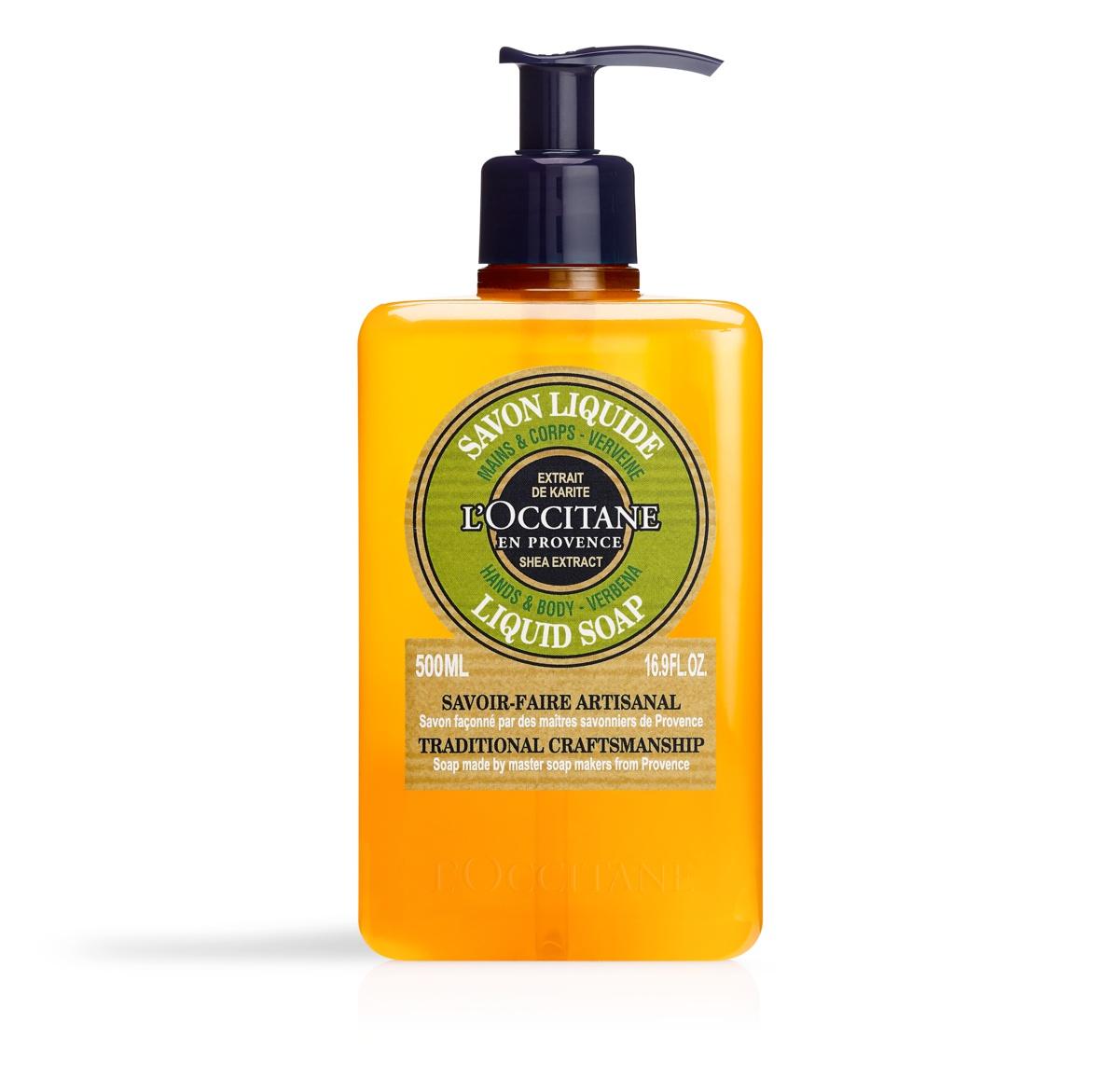L´Occitane Shea Hands & Body Verbena Liquid Soap