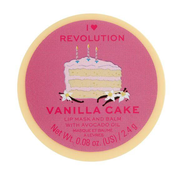 Makeup Revolution I Heart Revolution Lip Mask & Balm Vanilla Cake