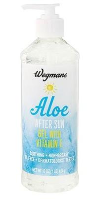 Wegman's Aloe After Sun Gel With Vitamin E