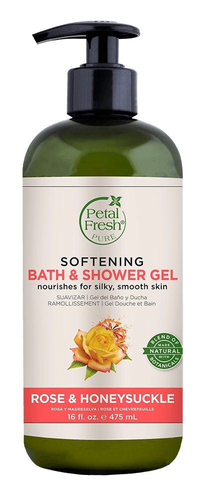 Petal Fresh Rose & Honeysuckle Bath & Shower Gel (softening)