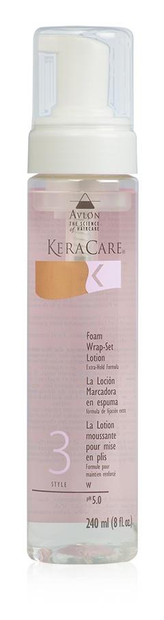 KeraCare Foam Wrap-Set Lotion