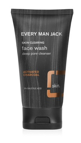 Every Man Jack Activated Charcoal Face Scrub Skin Clearing