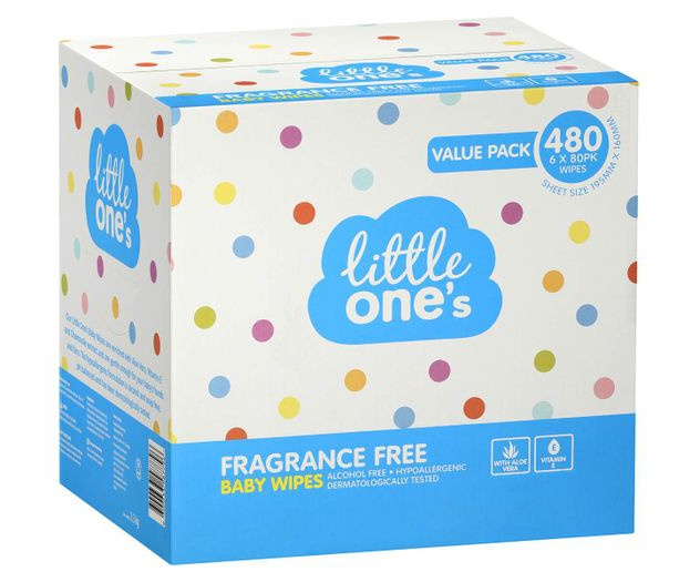 Woolworths - Little Ones Fragrance Free Baby Wipes