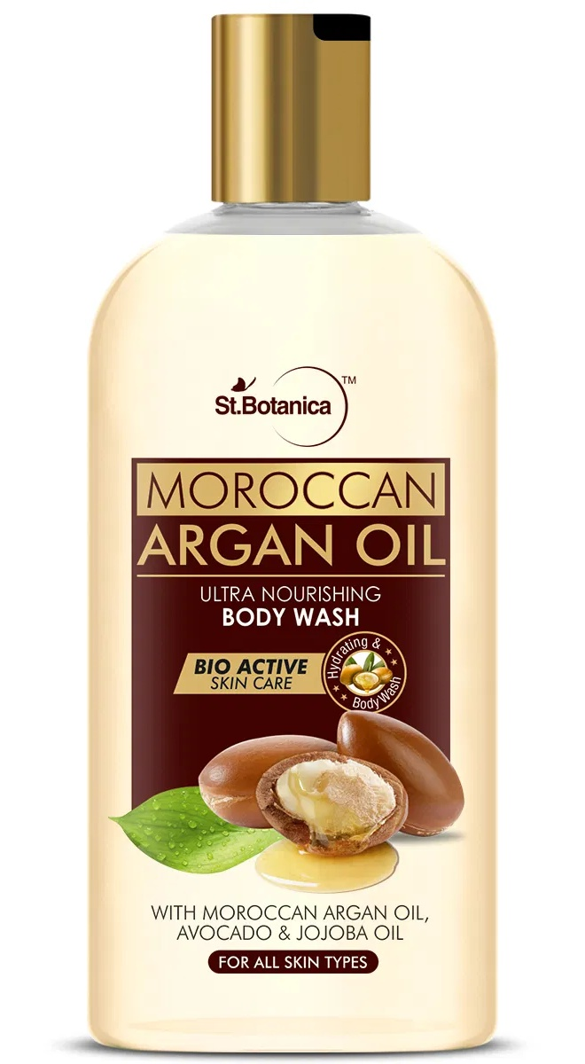 St. Botanica Argan Oil Ultra Nourishing Body Wash