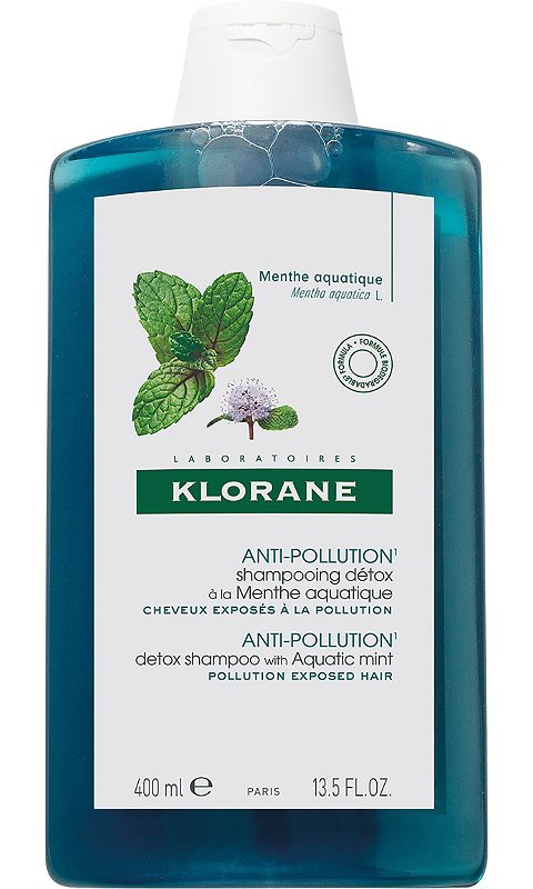 Klorane Scalp Detox Shampoo With Aquatic Mint
