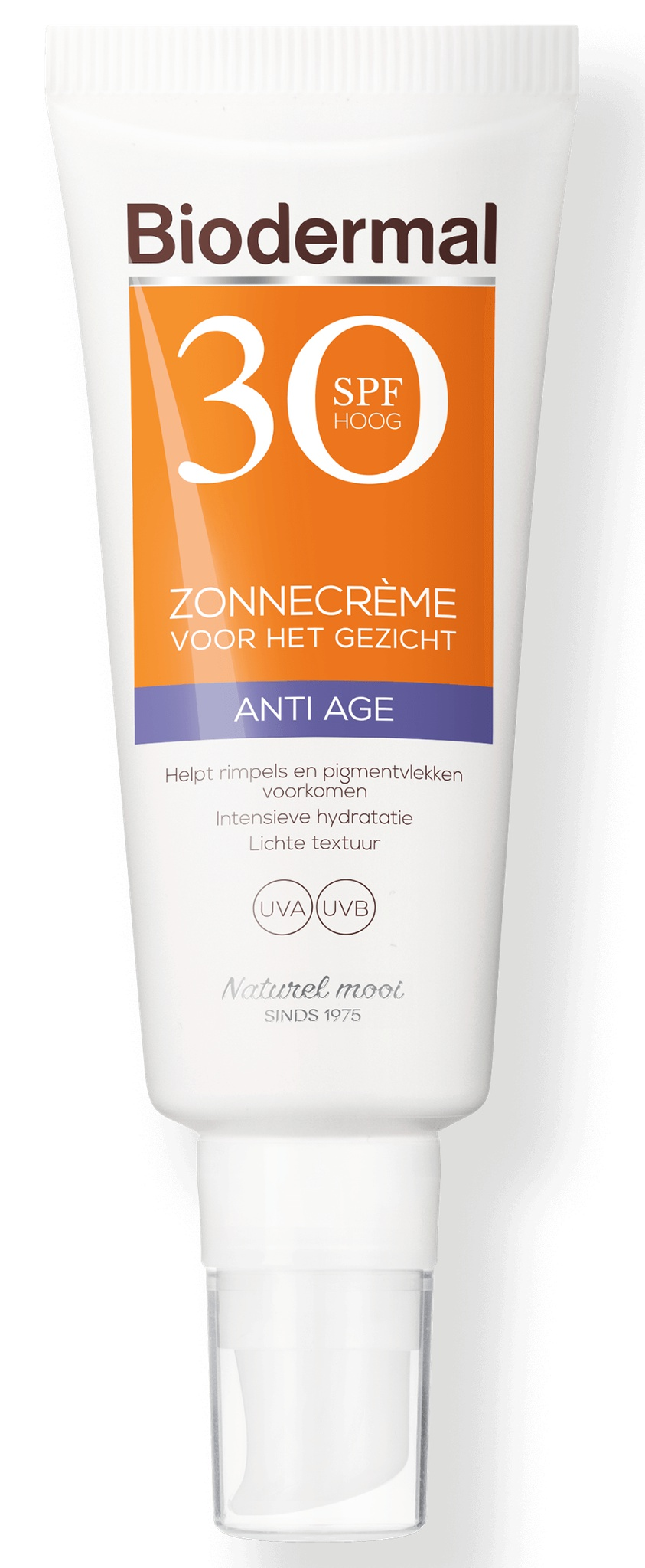 Biodermal Gezicht SPF 30 Anti Age Zonnecrème