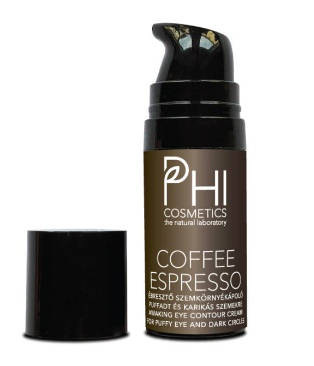 PHI Cosmetics Coffee Espresso Anti Fatigue Eye Contour Cream