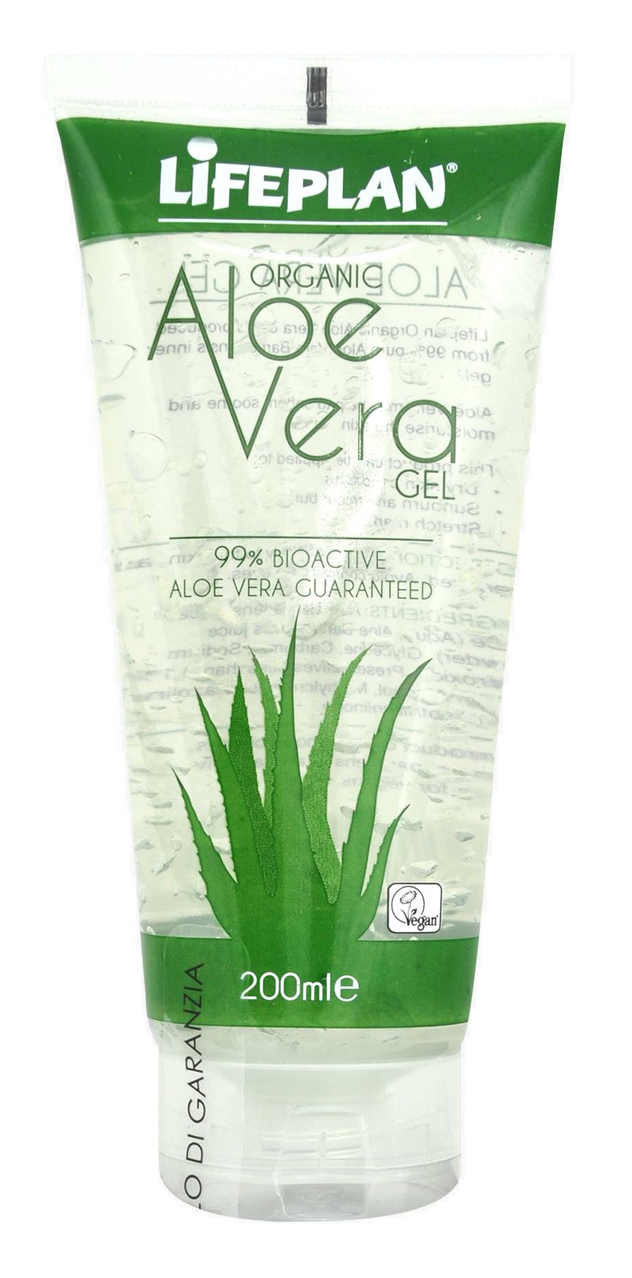 LIFEPLAN Organic Aloe Vera Gel