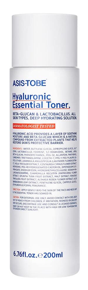 ASIS-TOBE Hyaluronic Essential Toner