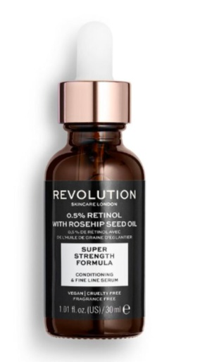 Revolution Skincare Extra 0.5% Retinol Serum With Rosehip Seed Oil