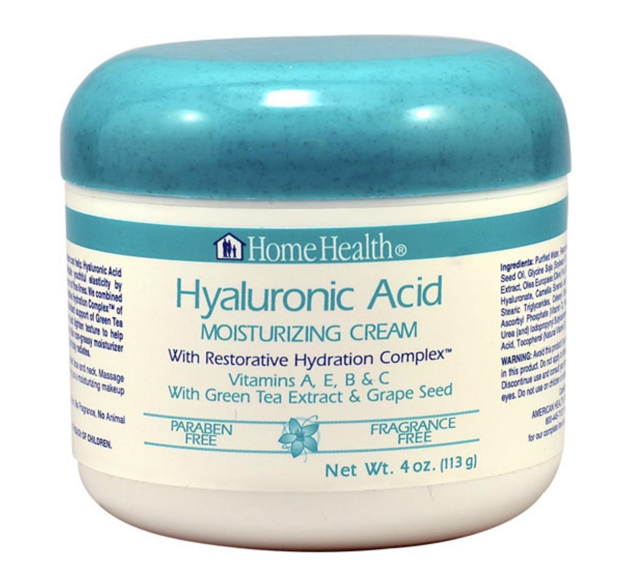 Home Health Hyaluronic Acid Moisturizing Cream