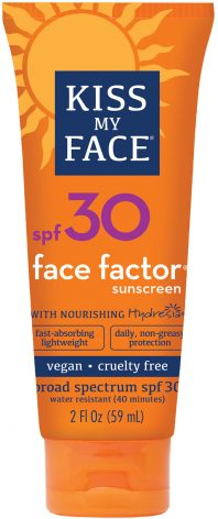 Kiss My Face Face Factor Spf30 Sunscreen
