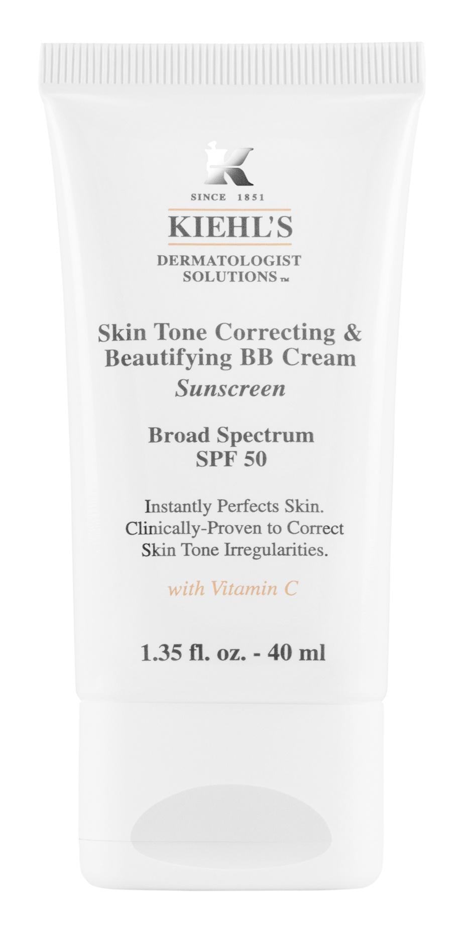 Kiehl's Skin Tone Correcting & Beautifying BB Cream SPF 50