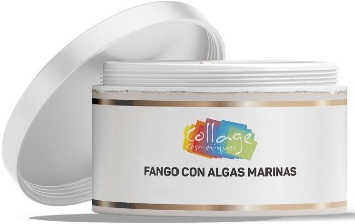 Collage Fango Con Algas Marinas