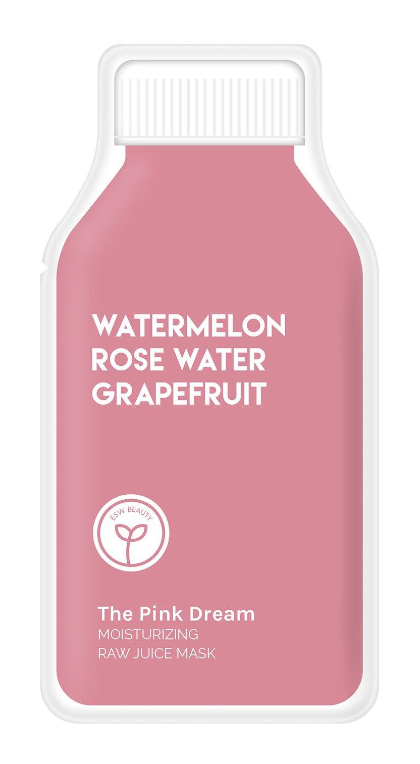 ESW Beauty The Pink Dream Moisturizing Raw Juice Face Mask
