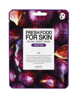 Farm Skin Fresh Food For Skin Facial Sheet Mask Fig:Purifying