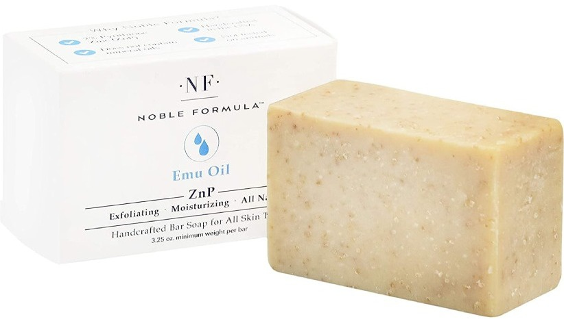Noble Formula Znp Emu Oil Bar Soap
