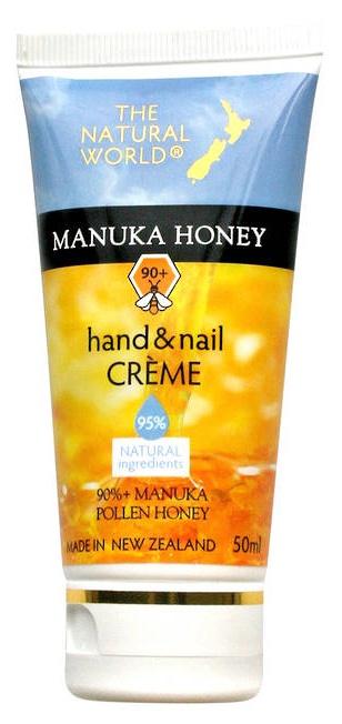 The Natural World Manuka Honey Hand & Nail Crème
