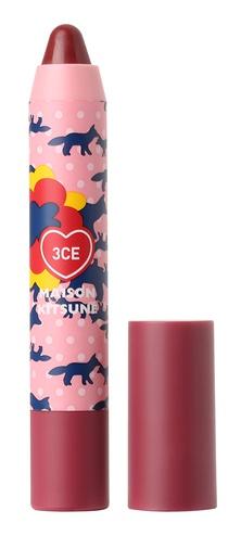 3CE X Maison Kitsune Velvet Lip Crayon