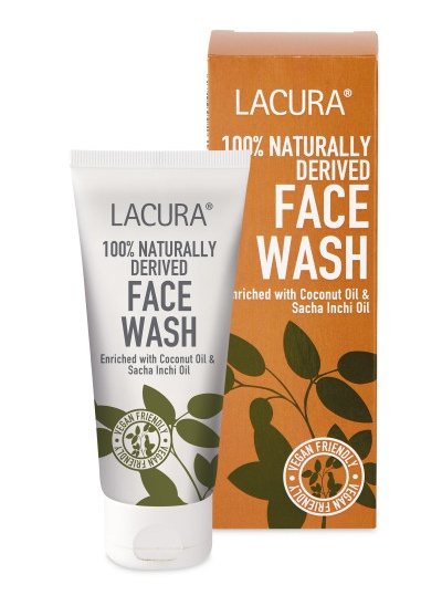 LACURA 100% Naturally Derived Face Wash