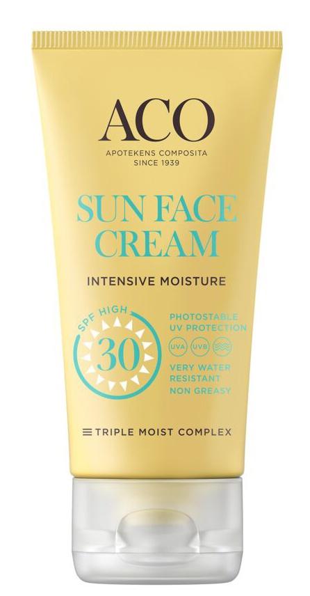 ACO Sun Face Cream SPF 30